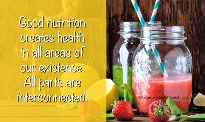 Is Nutrition Connected To All Areas Of Health?