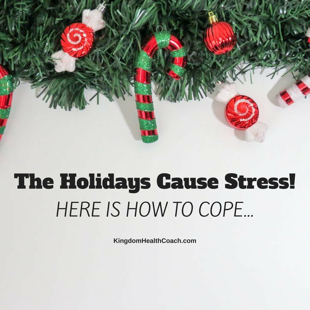 The Holidays Cause Stress!