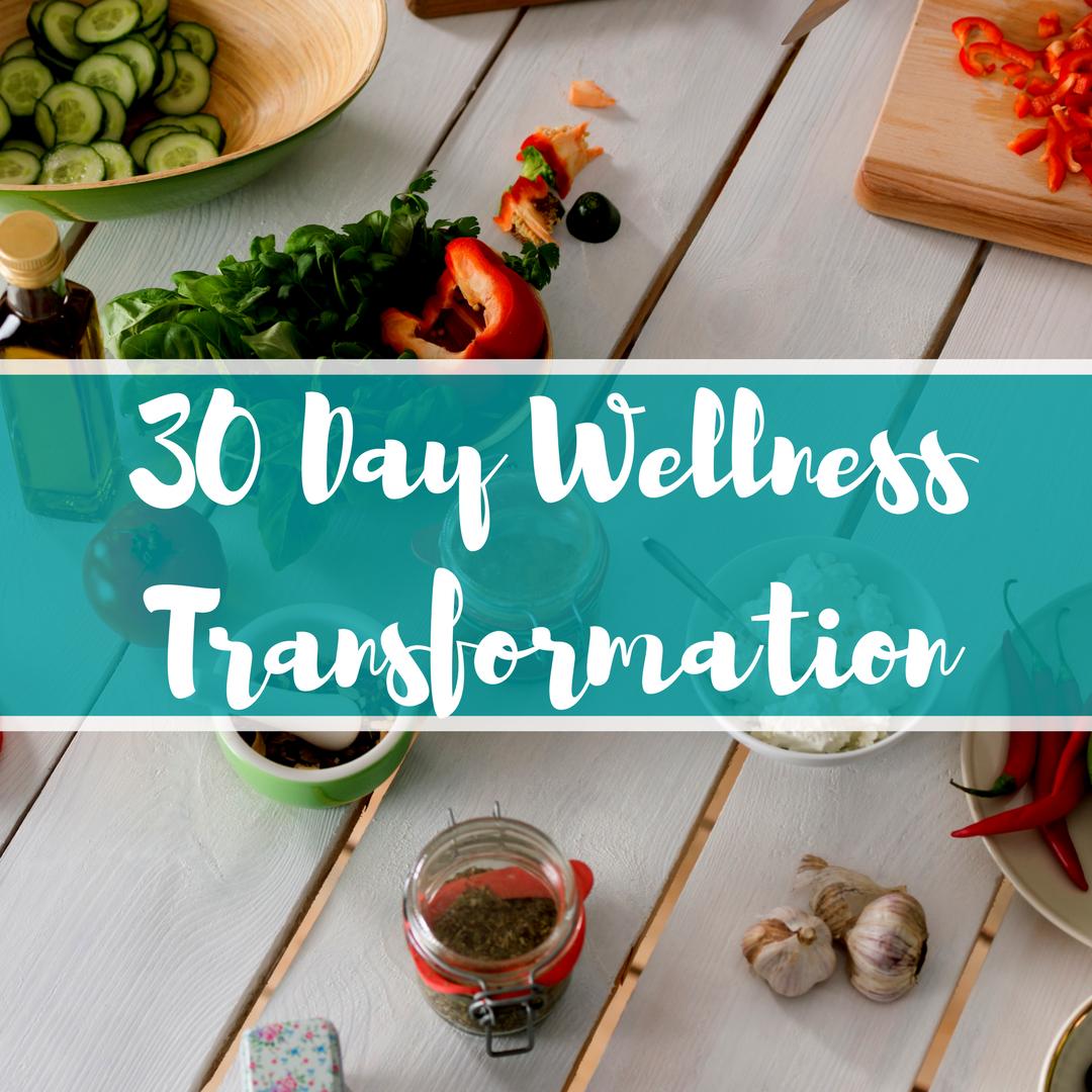 30 Day Wellness Transformation
