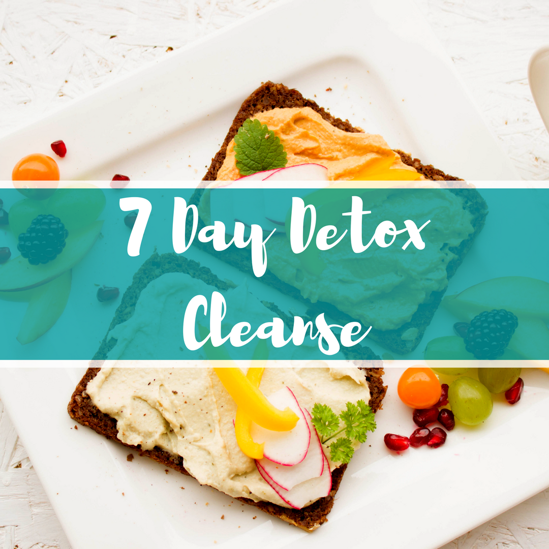 7 Day Detox Cleanse + Health Coach Support