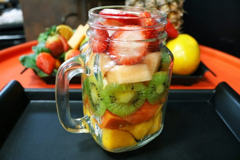 Paradise Fruit Salad Recipe In A Jar