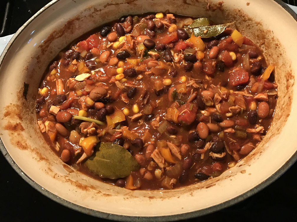 Veggie Chicken Chili Recipe