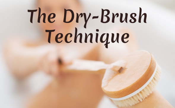 Read more about the article Dry Brushing Technique for Skin Health (and MORE!)