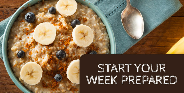 Meal Planning—Start Your Week Prepared